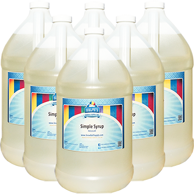 Buy 5 Gallons of Regular Simple Syrup Get 1 Gallon Free!