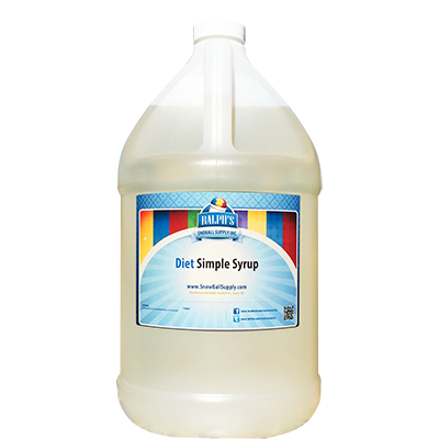 Diet Simple Syrup   Diet - Gallon