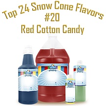 Red Coton Candy