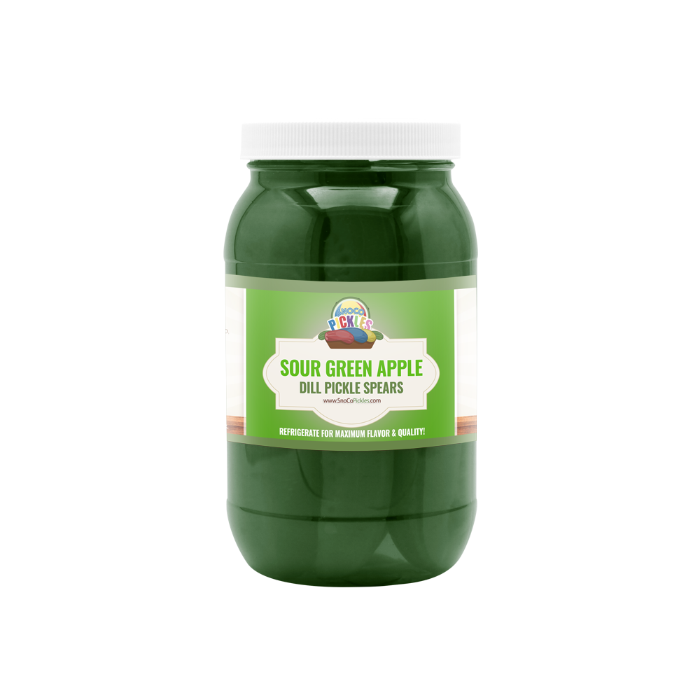 Sour Green Apple SnoCo Pickles (16oz)