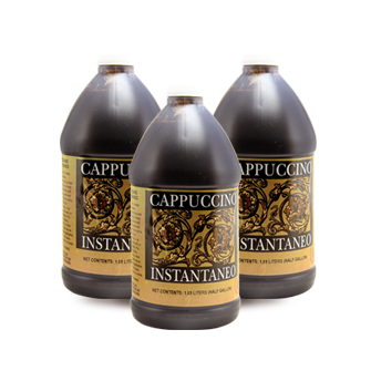 Cappuccino Concentrate Half Gallon