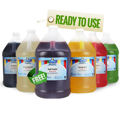 Get 1 Free Gallon of Ready To Use Flavor With The Purchase of 5 Gallons
