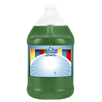 Green Apple  Syrup - Gallon