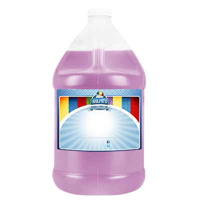 King Cake  Sugar Free Syrup - Gallon