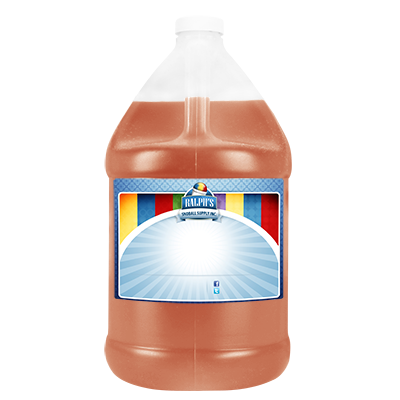Peach  Sugar Free Syrup - Gallon