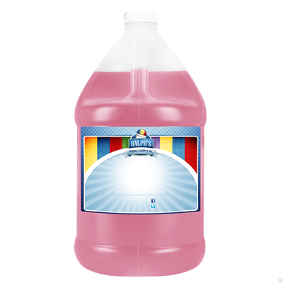 Pink Bubblegum Diet Syrup - Gallon