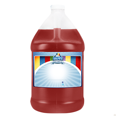 Strawberry  Sugar Free Syrup - Gallon
