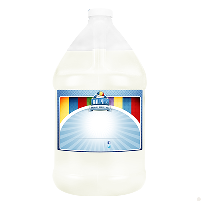 White Coconut  Syrup - Gallon