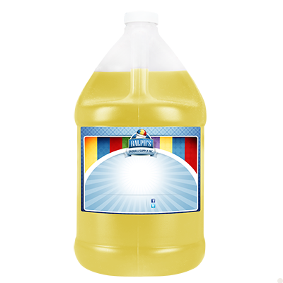 Banana Sugar Free Syrup - Gallon