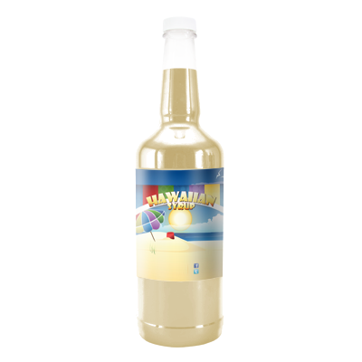 Cream Soda Hawaiian Syrup - Quart