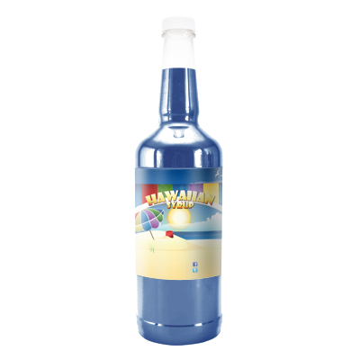 Blue Bubblegum  Hawaiian Syrup - Quart