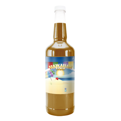 Mocha  Hawaiian Syrup - Quart