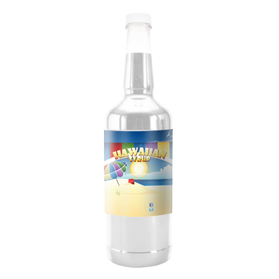 Clear Blue Eagle  Hawaiian Syrup - Quart