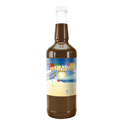 Dr Snow Cone  Hawaiian Syrup - Quart