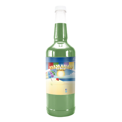 Lime Hawaiian Syrup - Quart
