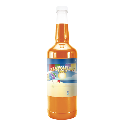 Dreamsicle  Hawaiian Syrup - Quart