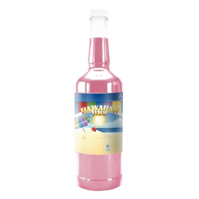 Pink Bubblegum Hawaiian Syrup - Quart